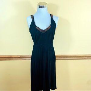Point Zero Nicole Benisti Black Dress Beads